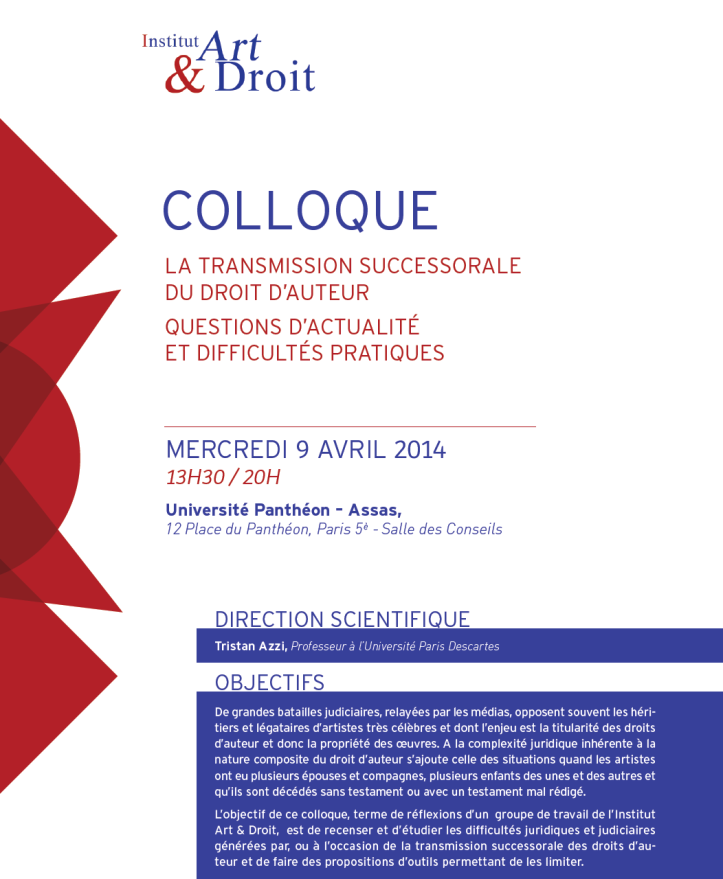 Colloque IAD 1