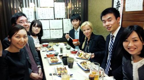 L'avv. Sveva Antonini a Tokyo per incontrare gli affiliati dello Studio Legale Info Tech Law Offices di Tokyo e consolidare la partnership nata nel 2013