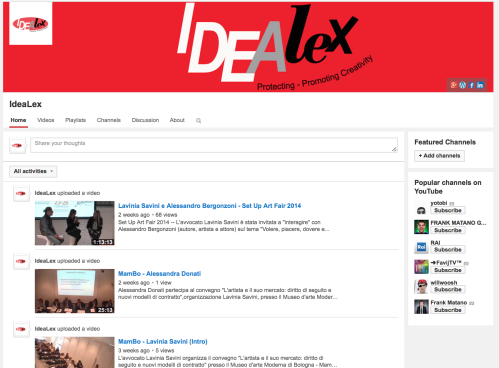 Idealex Channel