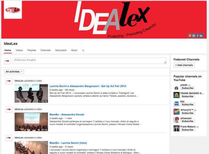 Idealex Channel