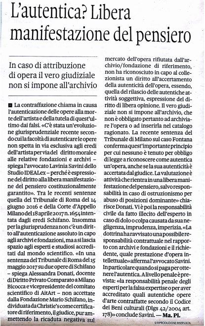 Articolo Pirelli